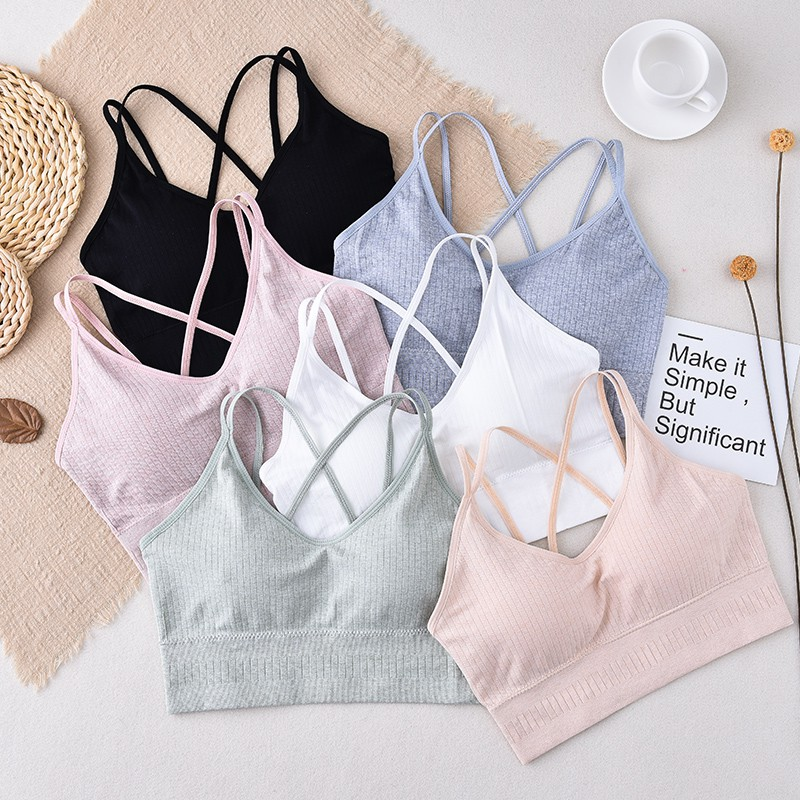 Sexy Women Wire Free Bras Push Up Tube Tops Gather Bralette Seamless Bra Comfort Tube Tops