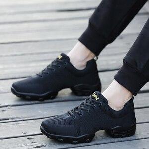 Image 4 - OZERSK 2021 erkekler rahat ayakkabılar marka erkek yaz ayakkabı Sneakers Flats örgü Lace Up loaferlar nefes yürüyüş ayakkabısı Size 39 ~ 44