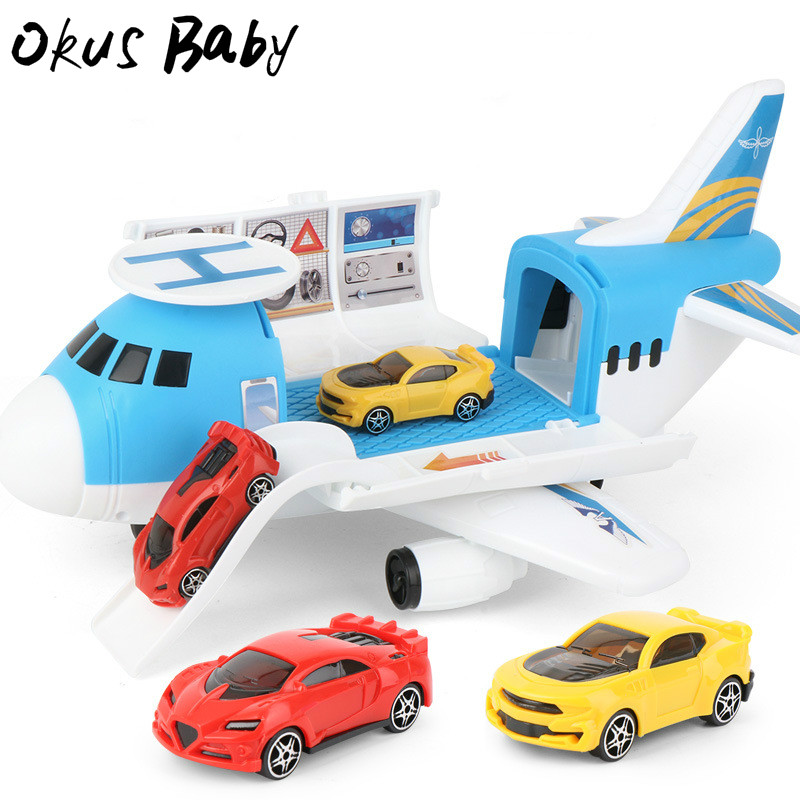 2020 Brand New Design Assembled Disassembly Disassembly Storage Model Airplane Toy for Children Gift image
