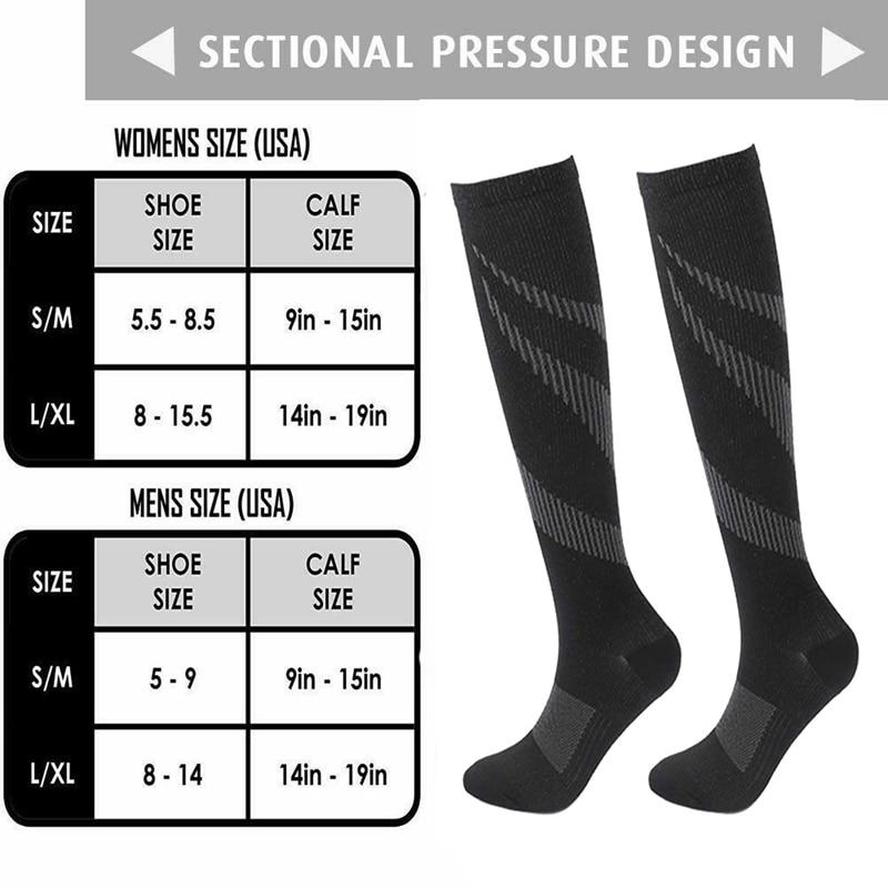 Running-Compression-Socks-Women-Men-Knee-High-Sport-Stockings-Racing-Pressure-Run-Compress-Long-Nylon-Multi (5)