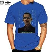 Barack Obama Hes The One T Shirt The Matrix Rare Mens Size Large 014670