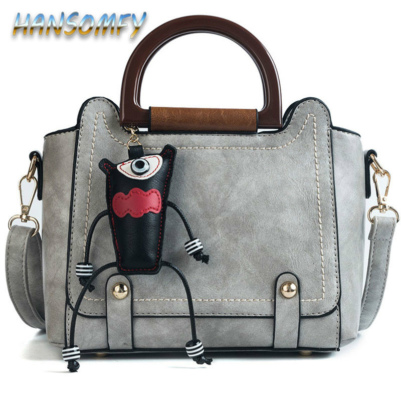 Sacs à main de luxe femmes sacs Designer mignon pendentif Vintage femme 2019 rétro filles sacs à bandoulière dames large sacs à bandoulière YY-07