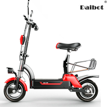 SEALUP Off Road Electric Bike 2 Wheels Scooters 10 Inch 580W 48V Foldable Scooter Adult Women With Seat
