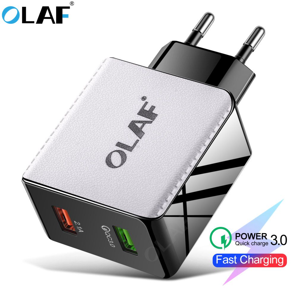 48W Quick Charge 4.0 3.0 Multi USB Charger QC3.0 Fast Charger Travel Wall Mobile Phone Charger For IPhone Samsung Xiaomi Huawei