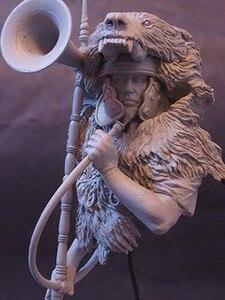 Image 1 - 1/10  anicent Roman man warrior bust   Resin figure Model kits Miniature gk Unassembly Unpainted