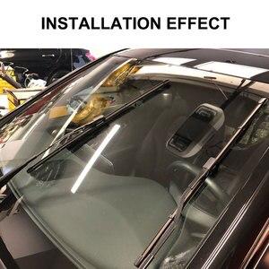 Image 5 - For Mercedes Benz CLA C117 W117 2016 2017 2018 CLA180 CLA200 CLA220 CLA250 CLA45 AMG Accessories Car Front Wiper Blades Brushes