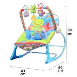 Baby Elektrische Weihnachts Geschenk Kind Komfort Stuhl Liegestuhl Baby Elektrische Schaukel Stuhl Neugeborene Schlafen Wiege Bett