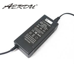 Image 3 - AERDU Paquete de batería de iones de litio 10S, 42V, 2A, 36V, cargador, fuente de alimentación, Adaptador convertidor de CA 100 240V, enchufe de CC para UE/EE. UU./AU/UK
