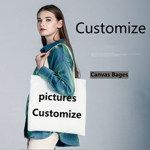 Customization Solid Corduroy Shoulder Bags fashion canvas bag Tote Package Purses Casual Handbag For young girl 42cm*40cm(China)