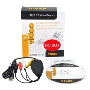 Ezcap172 USB 2.0 Video Grabber AV S-Video Game Audio Capture Card Old Tape VHS 8mm Cassette Video Camera Camcorder Windows Win10