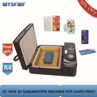 Wtsfwf ST 2030 3D Sublimation Heat Transfer Printer 3D Vacuum Heat Press Printer for All Phone Cases Except Ipad