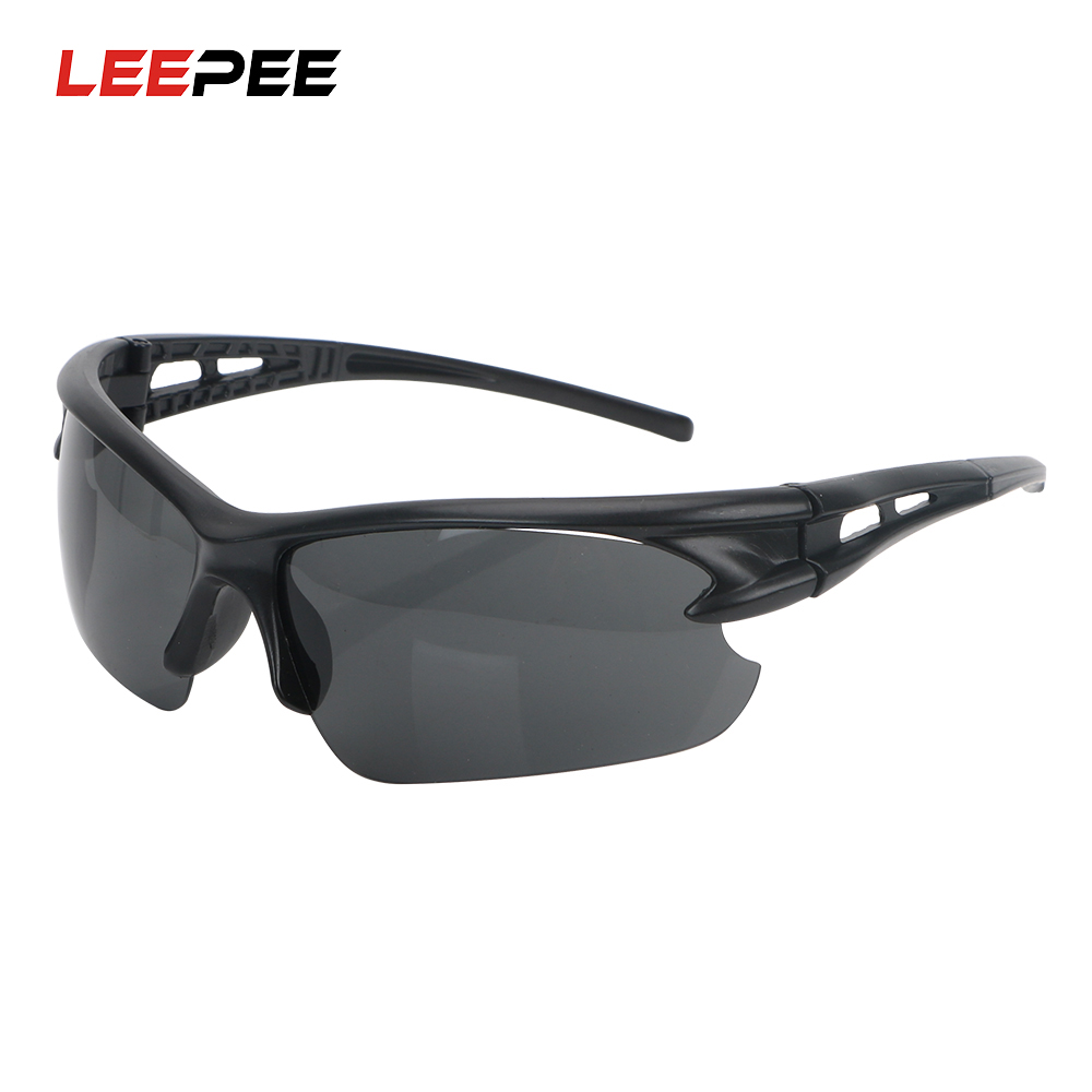 LEEPEE Night Vision Glasses Windproof For Outdoor Riding Plain Glass Spectacles Explosion-proof Sunglasses Insect Proof