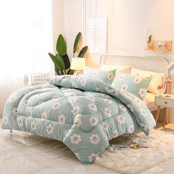 Luxury Down Blanket Duvet Quilted High Grade Cotton Bedding Filler Winter Blanket King Queen Full Twin Size Comforter Blanket