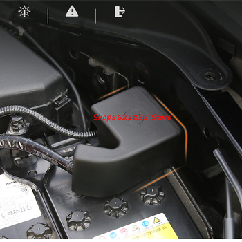 Battery Negative Protective Cover For Subaru Forester 2019 2020 Flame Retardant Cover Dustproof And Waterproof Car Accessories image