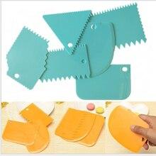 Инструменты для выпечки хлеба 6 шт/лот скребок кремов с неровными