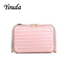 Youda New Original Sweet Retro Shoulder Bag Fashion Simple Classic Portable Crossbody Tote Literary Leisure Solid Color Packet