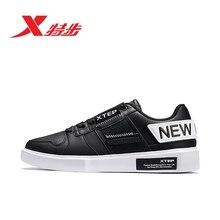 881419319791 Xtep men shoes 2019 autumn black trend casual Korean sneakers running
