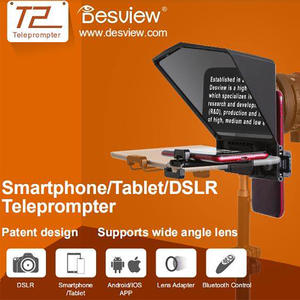 Bestview T2 Teleprompter for Canon Nikon Sony Camera Photo Studio DSLR for iPad Smartphone