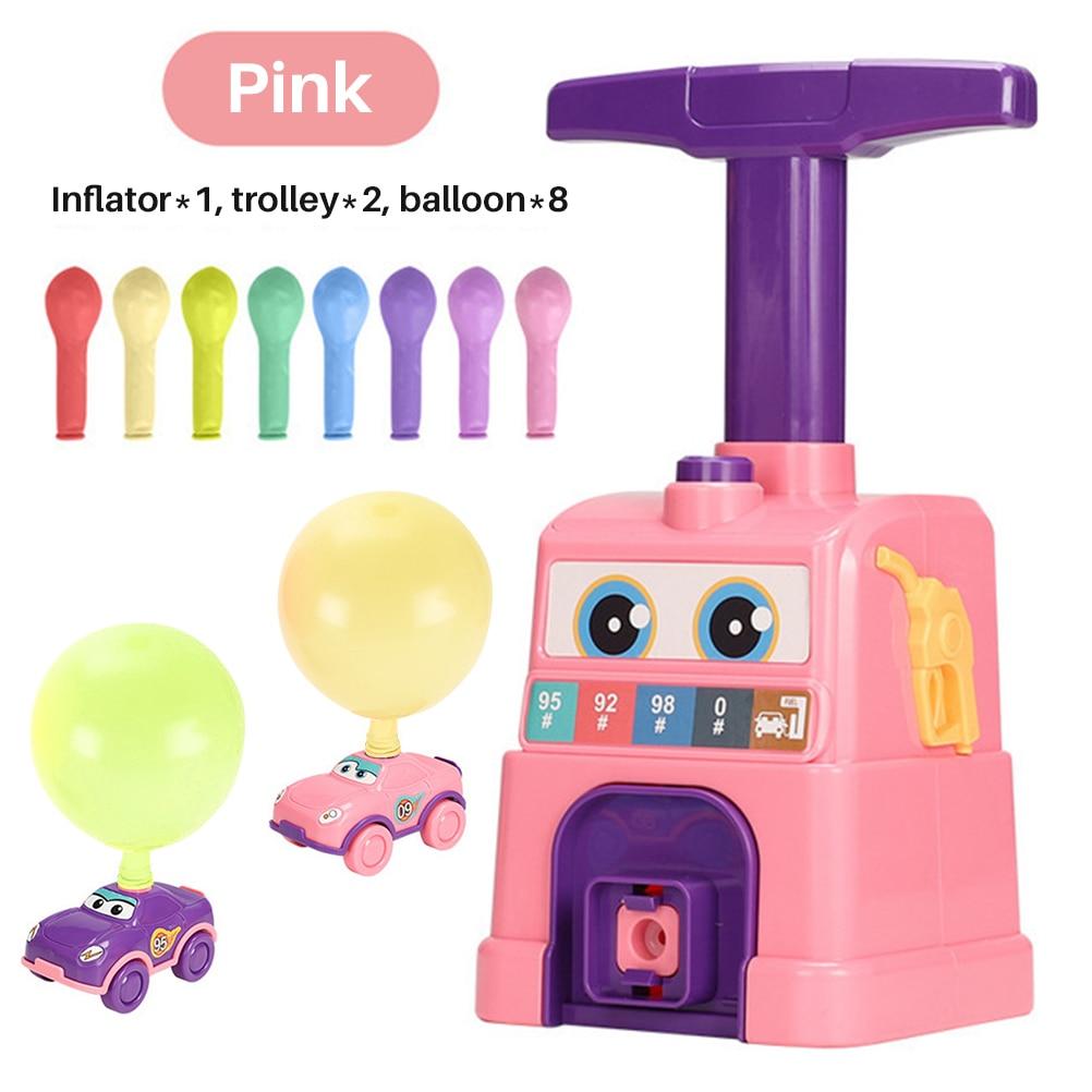 Детский аэродинамический инерционный воздушный шар, пресс-машина, забавная игра, воздушный шар, машина, выдувающий воздушный шар, образоват...