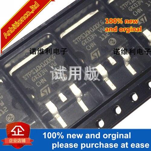 5pcs 100% New Original STPS10H100CG In Stock