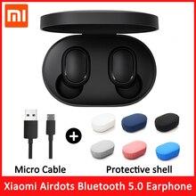 מקורי Xiaomi Redmi Airdots S TWS אלחוטי אוזניות Xiaomi אוזניות קול בקרת Bluetooth 5.0 רעש הפחתת ברז שליטת AI