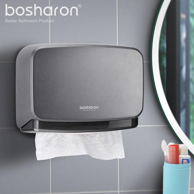 נייר מגבת Dispenser קיר רכוב רקמות מחזיק ומכופלים נייר מגבת מכשירי עבור משרד בית מטבח מסחרי אמבטיה
