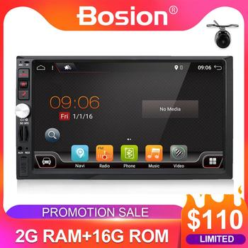 2 DIN car radio gps android car stereo cassette player recorder GPS Navigation steering wheel control WIFI BT GPS Morror link image