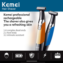 Keimei Electric Shaver Hair Trimmer for Men USB Rechargeable