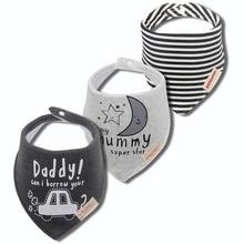 Baby Scarf Bibs Burp-Cloth-Bandana Muslin Newborn Infant Girl Organic Cotton Winter Toddler