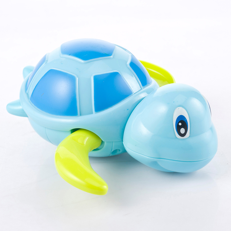 Single Sale Cute Cartoon Animal Tortoise Classic Baby Water Toy Infant Swim Turtle Wound-up Chain Clockwork Kids Beach Bath Toys 1
