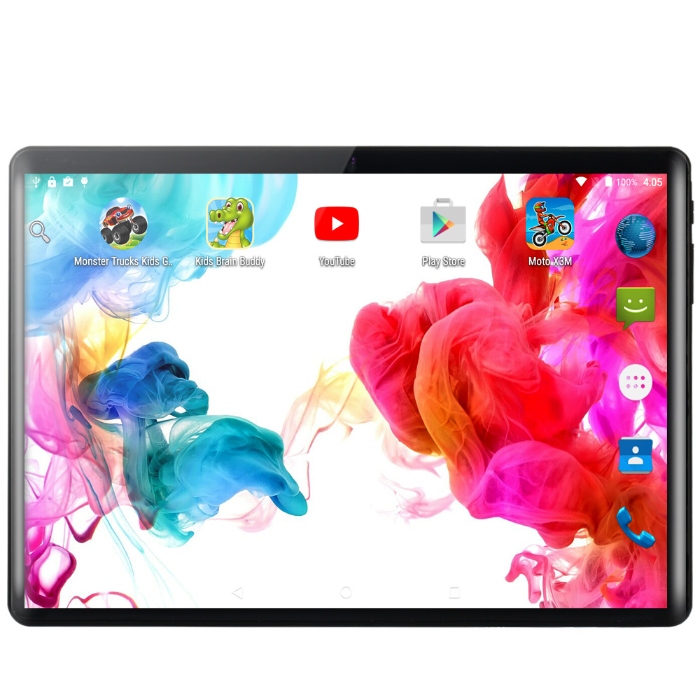BDF Tablet 10 Inch 3G/4G LTE Phone SIM Tablets Pc Android 9.0 Google Play Ten Core 8GB/128GB IPS Tablet 7 8 9 10 Metal Tablet Pc