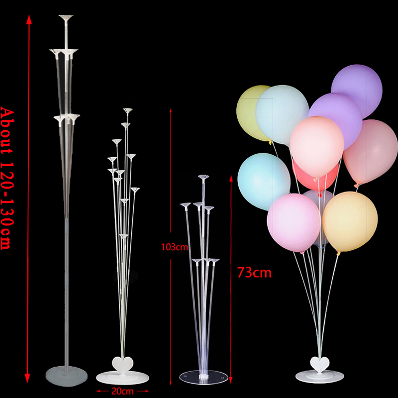 <font><b>70</b></font>/100/130cm balloon Stand Wedding <font><b>Decoration</b></font> Happy <font><b>Birthday</b></font> Party Balloon Stick Holder Baloon Accessories Festival Globos image