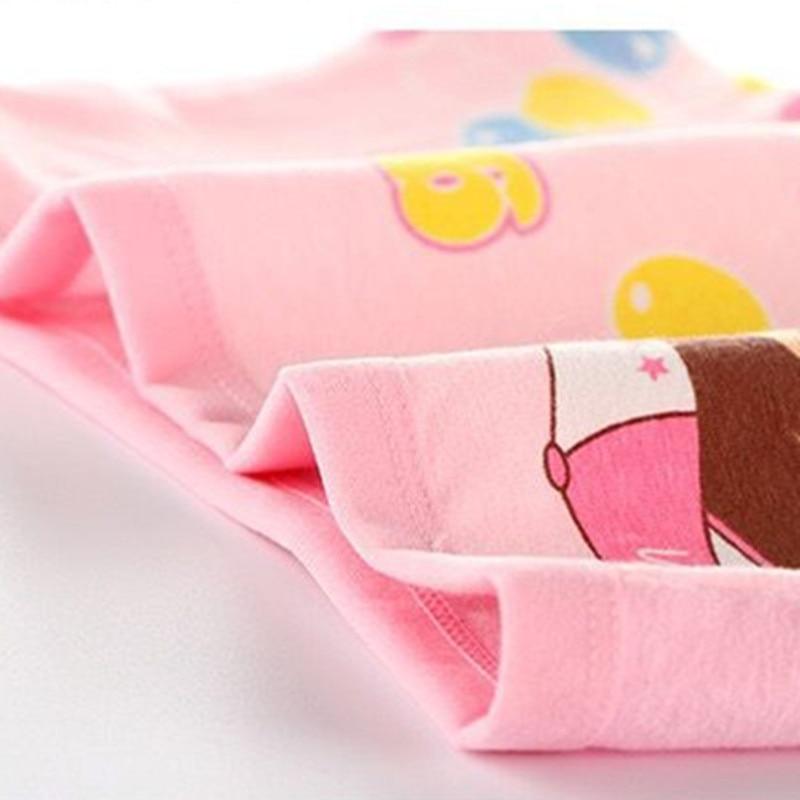 4Pcs/Lot Cartoon Underpants Baby Boxer Kids Underwear Cotton Panties Calcinhas Infantis 2-10Y 4