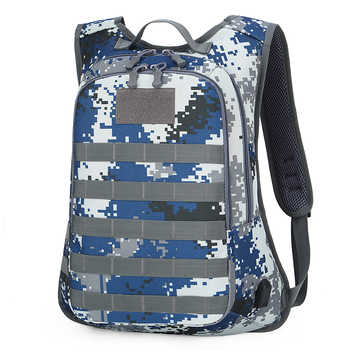 Outdoor camouflage multi-function tactical travel large capacity backpack multi-function USB charging pack - DISCOUNT ITEM  29 OFF Luggage & Bags