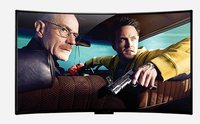 55''60'' 65'' inch curved screen led TV android OS  wifi smart television TV 2