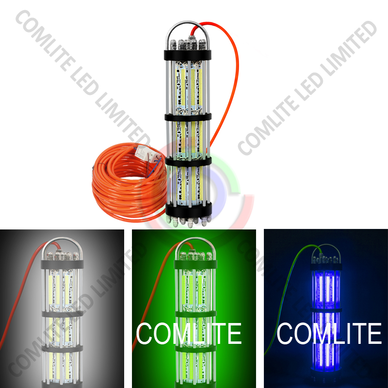 High power 1500W AC240V White Green Blue Dimmable Lighting Fishing - Outdoor Lighting