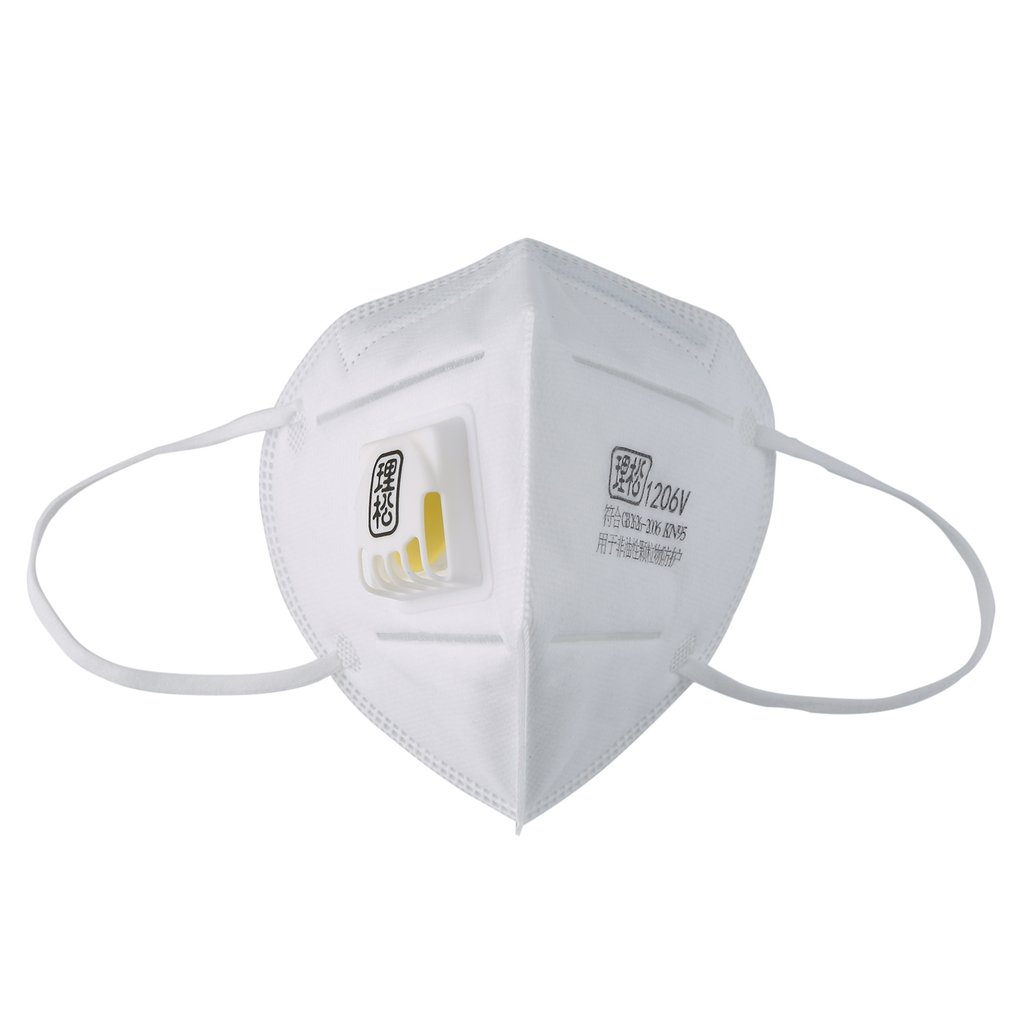 1pc Disposable Kn95 Masks Respirator Anti-fog Dust-proof Face Mouth Mask Non Woven Protective Kids Adult Filter Mask