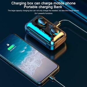 Image 4 - F9 5 auricolare senza fili Bluetooth 5.0 cuffie IPX7 auricolari impermeabili Touch Key auricolari funziona su tutti gli smartphone Android iOS