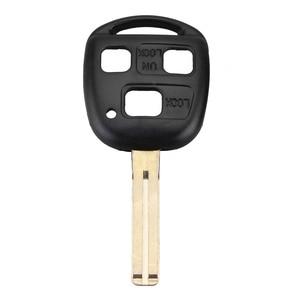 Image 1 - Carcasa para llave remota de coche, 3 botones, hoja corta, compatible con Lexus SC430 GX470 RX350 RX400h ES330 GS300 GS430 LS430