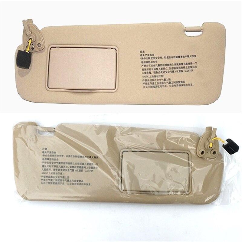 For HYUNDAI Sonata NF NFC Sun Visor Sunshade Assembly 85201-0R300X6  85202-0R300X6 Gray