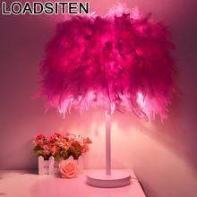 Fille Schemerlamp Tafellamp Noche Lampe Bed Lamp El Dormitorio Lampara Abajur Para Quarto Luminaria De Mesa Table Bedside Light