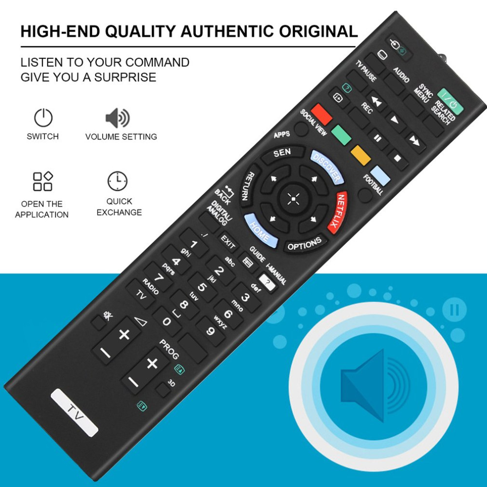 New AA59-00638A Remote Control for Samsung Smart TVs.