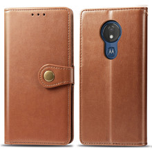 Phone Bag G7Power G7Play E6Plus Funda Couples Flip Wallet Leather Case For MOTOROLA E6 Plus P40 Card Cover Protection