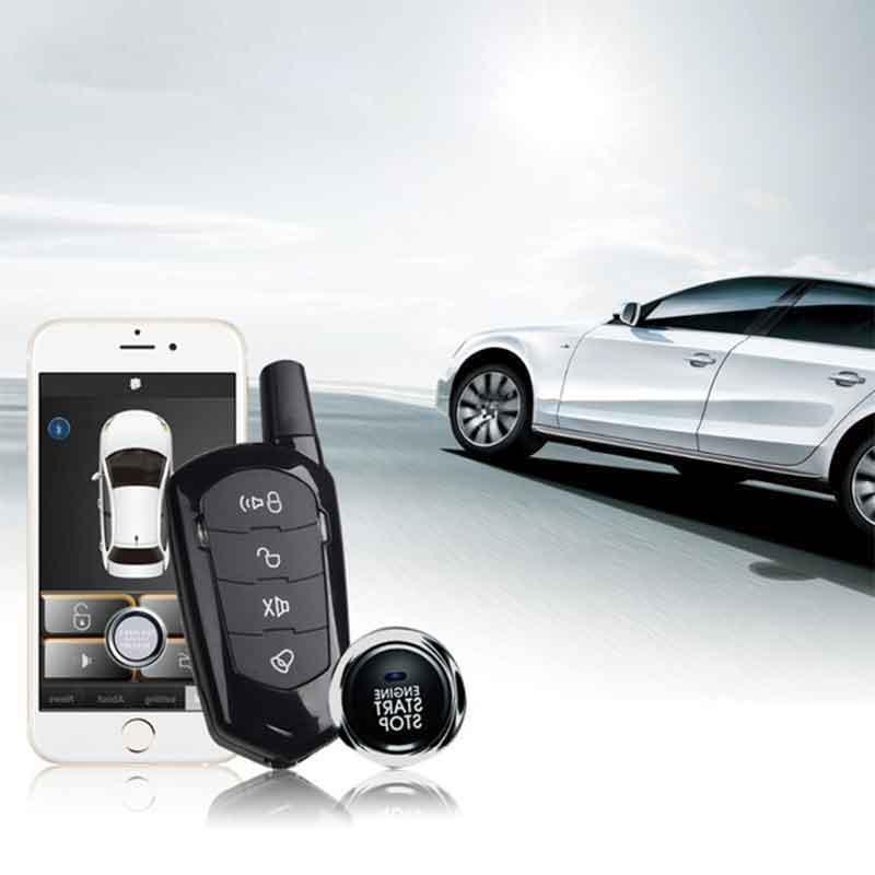 Keyless Entry System PKE Car Alarm System Car Remote Lock  Car Accessories DVR Signaling Remote Start Central Locking Start Stop