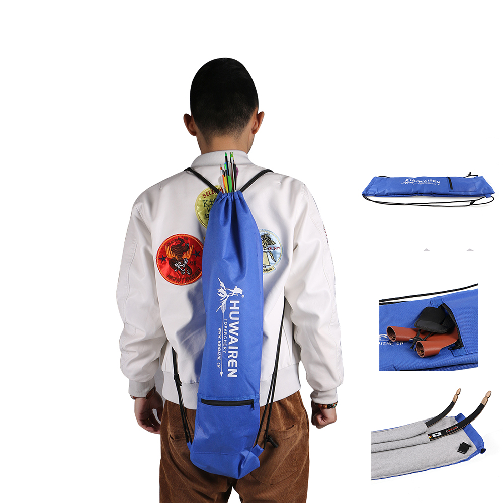 Toparchery Archery Takedown Recurve Bow Bag Soft Case Holder Hunting Target Tips Pouch 68 * 18cm