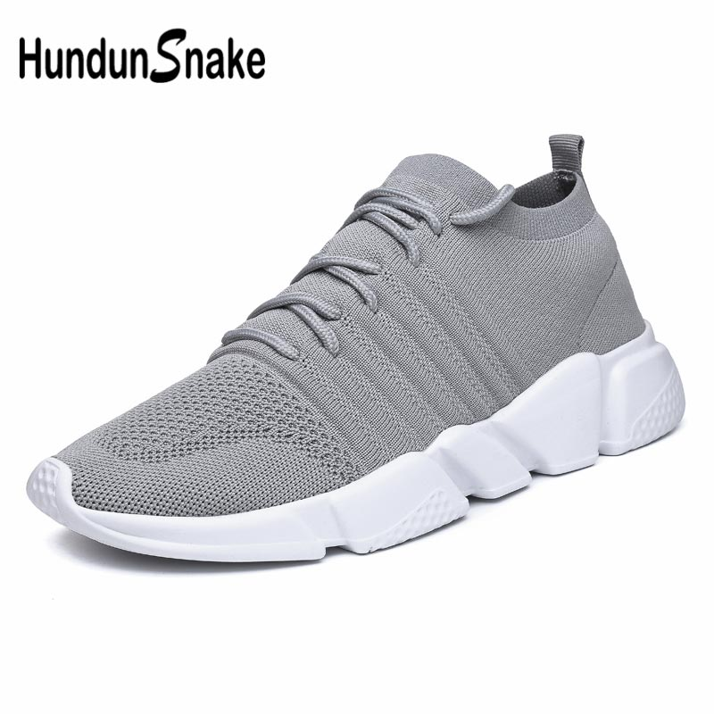 High Size Knitted Sock Sneakers for Men Running <font><b>Shoes</b></font> Sports Man Sport <font><b>Shoes</b></font> Mans <font><b>Shoes</b></font> Workout Gray Trainers Tennis Gym E-<font><b>361</b></font> image