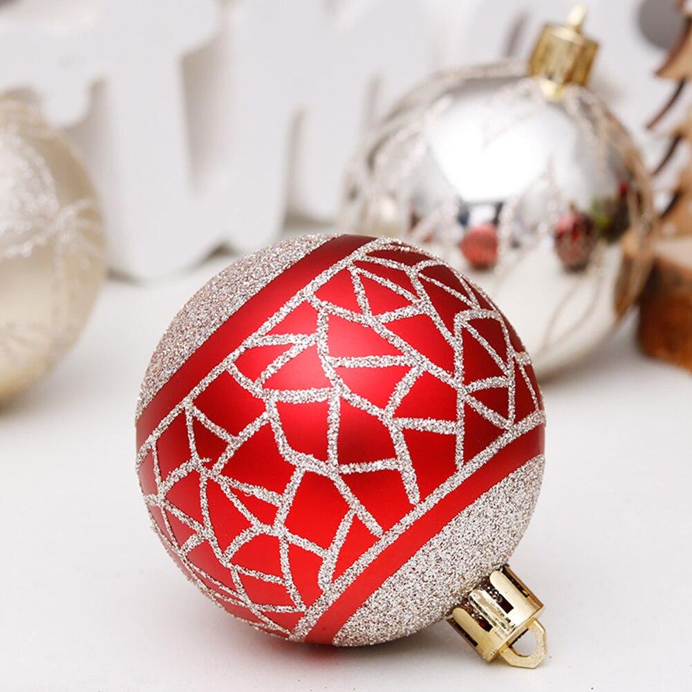 Купить 30 шт 6 см красочные блестящие рождественские шары 2020 натальные