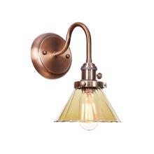 Настенный светильник rh в стиле лофт железная винтажная лампа