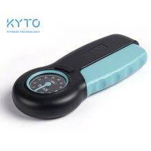 KYTO ручной динамометр с рукояткой измеритель мощности силы руки мощность 121lb / 55 кг