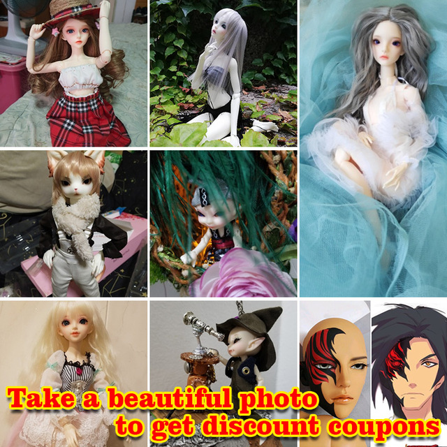 Buyer show BJD Doll Event Take a Beautiful Photo to Get Discount Coupons